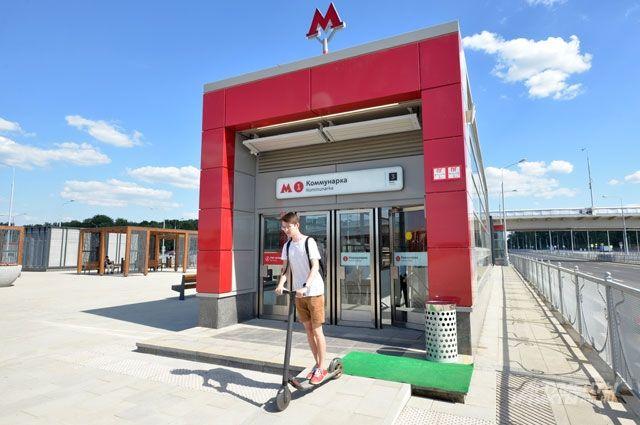 Девять станций красной ветки московского метро откроют раньше срока