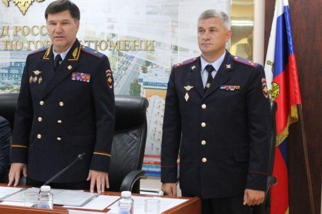 На должность начальника УМВД России по Тюмени назначен Евгений Козлов