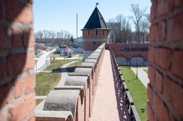 Фундамент бывшего Успенского собора нашли на территории Тульского кремля