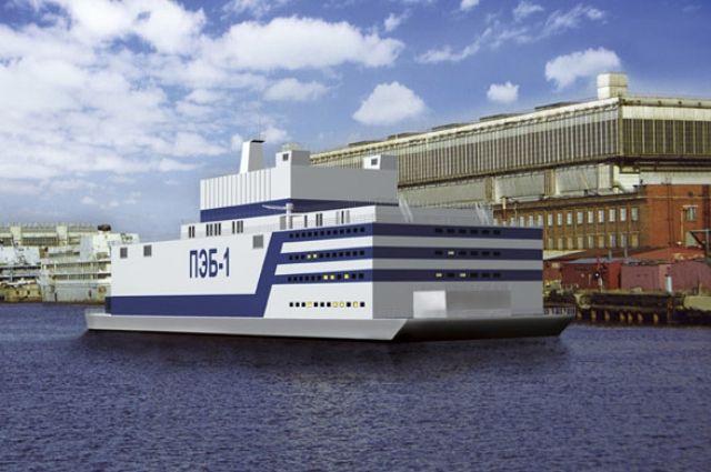 Первый в мире энергоблок плавучей АЭС отправится из Мурманска на Чукотку