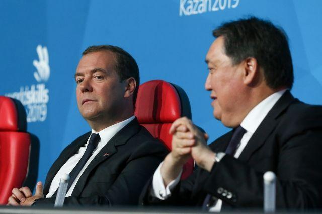 Дмитрий Медведев открыл мировой чемпионат WorldSkills в Казани