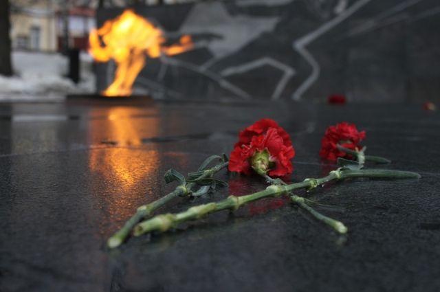 В Ижевске захоронили останки солдата, погибшего на войне