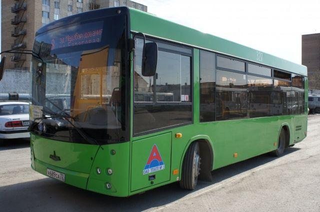 В Тюмени с первого сентября изменится схема движения автобуса №60