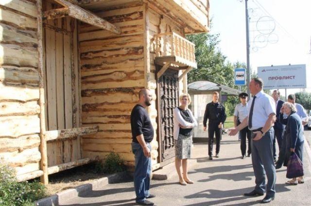 На владельца кафе «Замок» на Свердловской за этот год составлено четыре протокола за нарушение правил благоустройства
