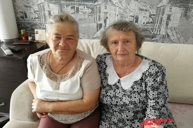 Галина (слева) и Раиса всегда найдут темы для разговоров.