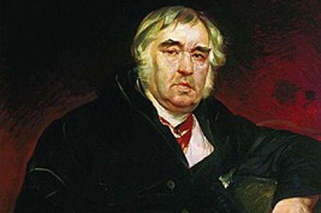 портрет работы К. П. Брюллова