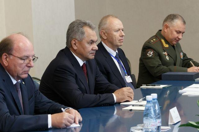 Шойгу: Россия не ставит под вопрос прекращение миротворчества в Приднестровье
