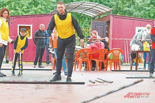 В номинации «Классические городки» мужская команда из Москвы заняла почётное третье место.