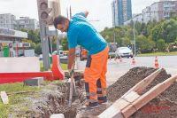 Благоустройство территории между Ясногорской и Тарусской улиц завершится втечение трёх лет.