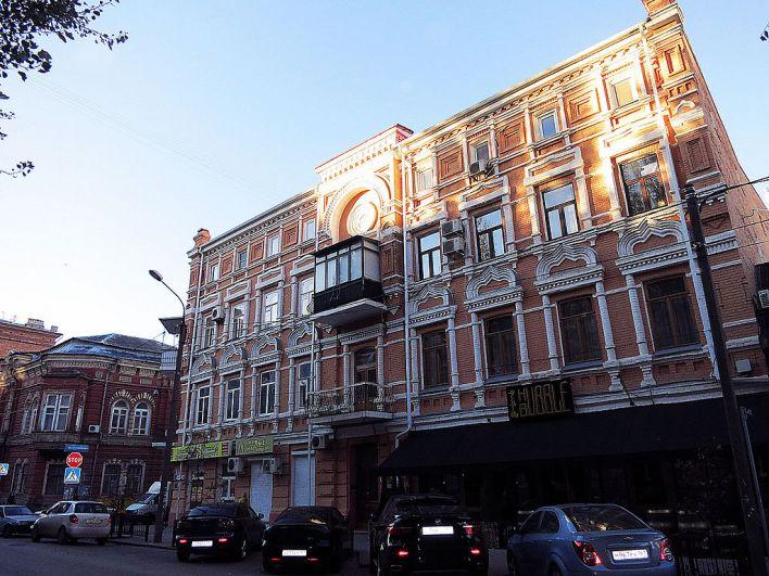 Доходный дом Е.Я. Костина, ул. Суворова, дом 29.