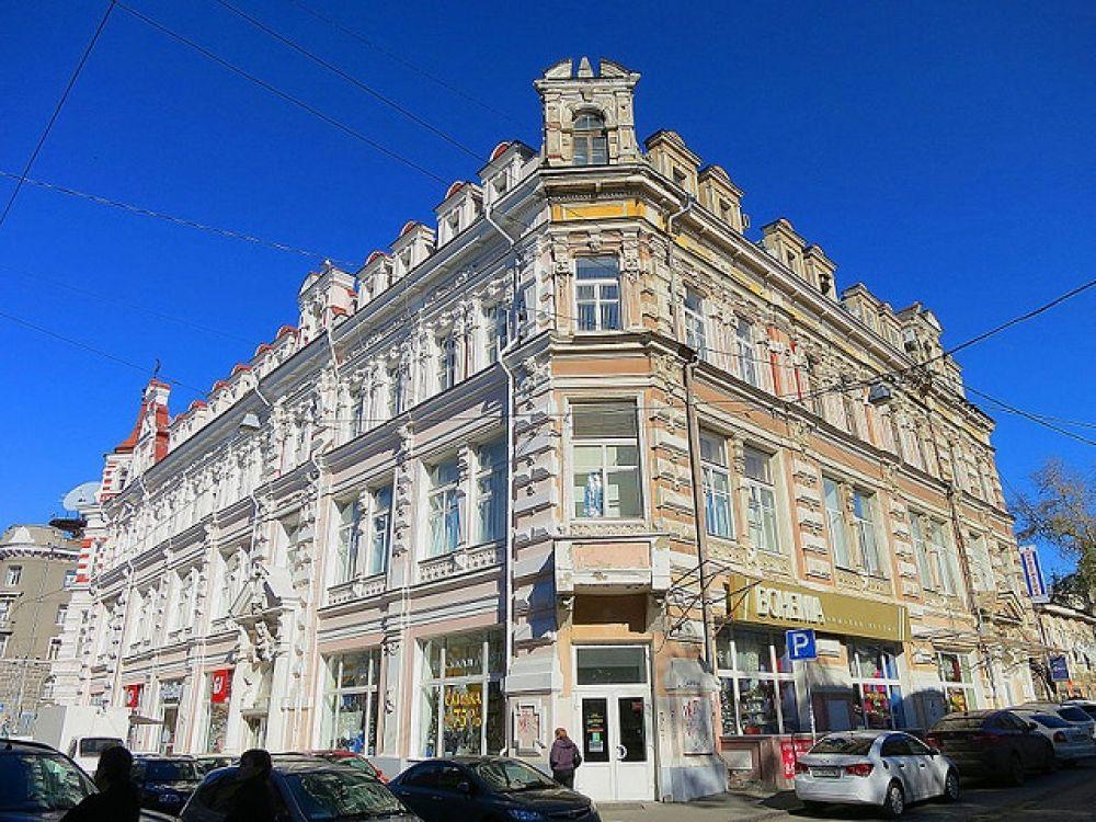 Дом купца С.Ф. Генч-Оглуева, Б. Садовая улица, дом 68.