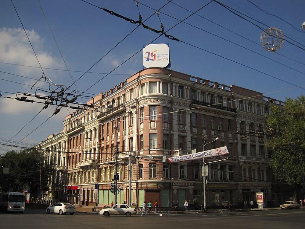Доходный дом Карапета Чернова, Б. Садовая улица, дом 69, здание РГЭУ (РИНХ).