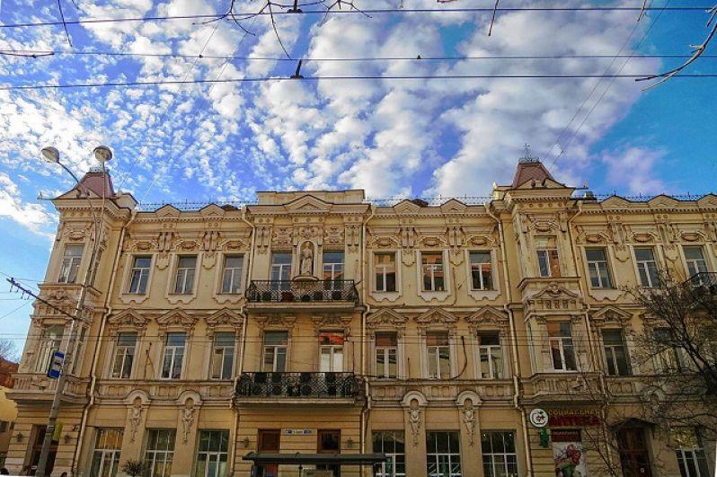 Доходный дом Н.И. Токарева, Б. Садовая улица, дом 106/46.