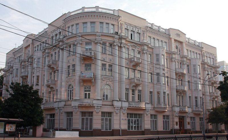 Доходный дом Г.Я. Кистова, Б. Садовая улица, дом 105. Главный корпус ЮФУ.
