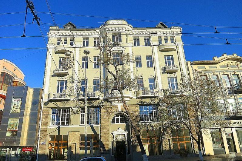 Доходный дом А.М. Штрома, Б. Садовая, 89.