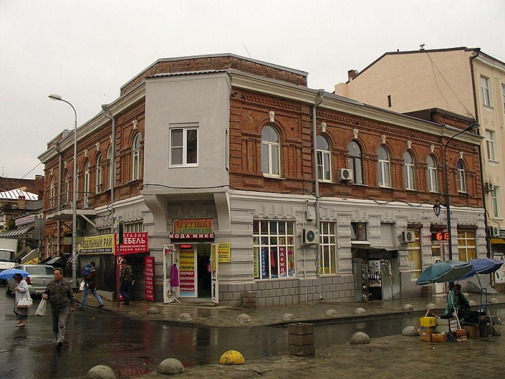 Доходный дом Ф.И. Мыльцына, улица Обороны, 48/18, переулок Семашко.