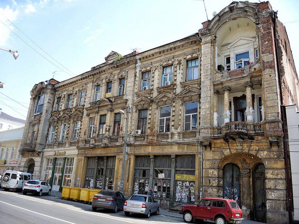Доходный дом Веньямина Кисина, ул. Московская, дом 72.
