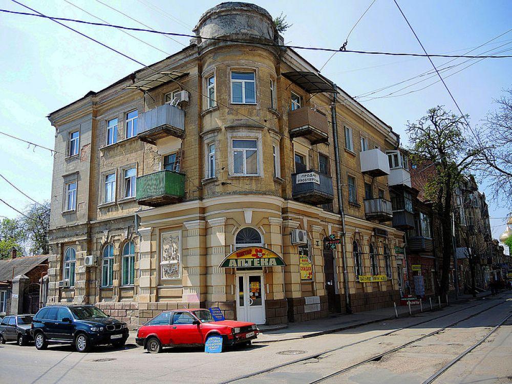 Доходный дом Л.Ф. Волкенштейн, улица Станиславского, 104/25, переулок Газетный.