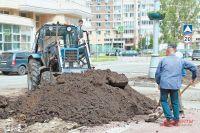 Работы поблагоустройству дворов района близятся кзавершению.