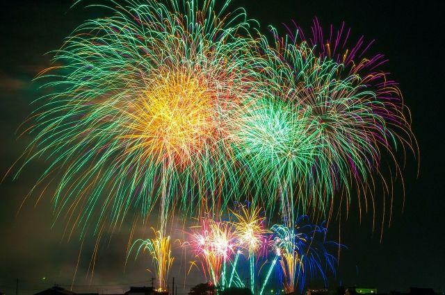Традиционный фейерверк состоится 7 сентября.