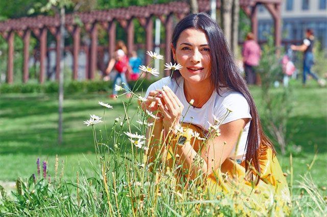 Парк «Академический» стал для жителей района, в том числе и для Виктории Полторак, основным местом отдыха.