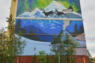 Итоги фестиваля граффити «Культурная оборона» подвели в Салехарде