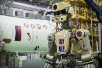 Робот Федор прибыл на МКС.