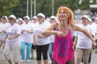 Рекорд России: самый массовый танцевальный флешмоб среди граждан пожилого возраста прошёл в«Сокольниках».