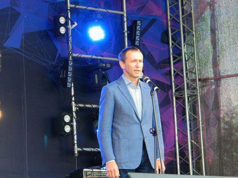 Генеральный директор «Уралкалия» Дмитрий Осипов поздравил горожан с Днём города и Днём шахтёра