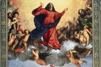 Тициан. Фрагмент картины «Успение Богородицы»