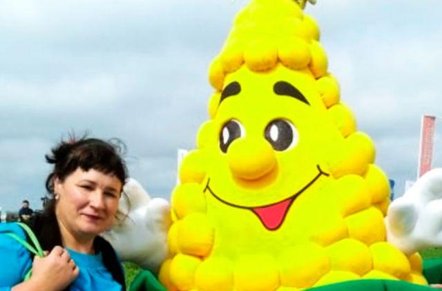 Приморская кукуруза народу настроение поднимает.