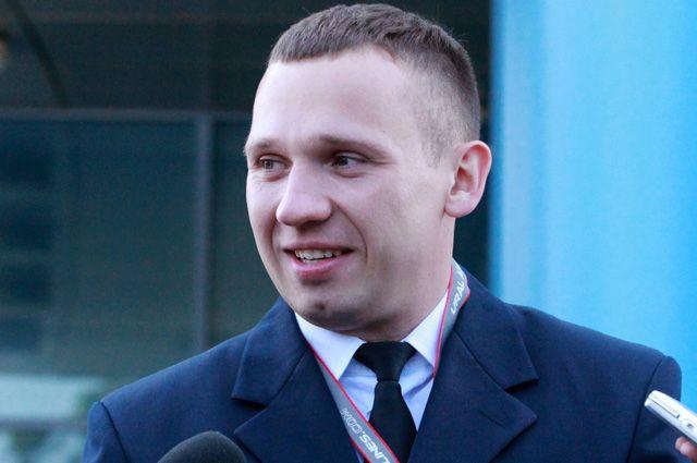 Бортпроводник «Уральских авиалиний» Дмитрий Ивлицкий.