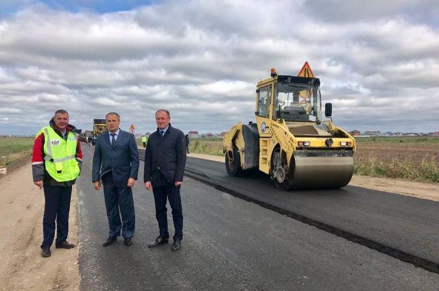 Дмитрий Кузьменко оценил качество дорожных работ в рамках нацпроекта