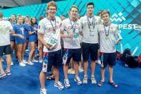 Сборная России в неофициальном медальном зачете заняла II место.