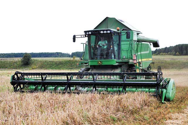 Сейчас сельхозпредприятия края заняты уборкой зерновых и заготовкой кормов.