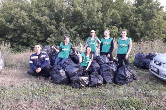 Объединение волонтеров «Зеленый патруль» появилось спонтанно