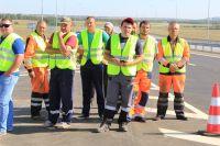 Автомагистраль к «Платову» стала более удобной и безопасной.
