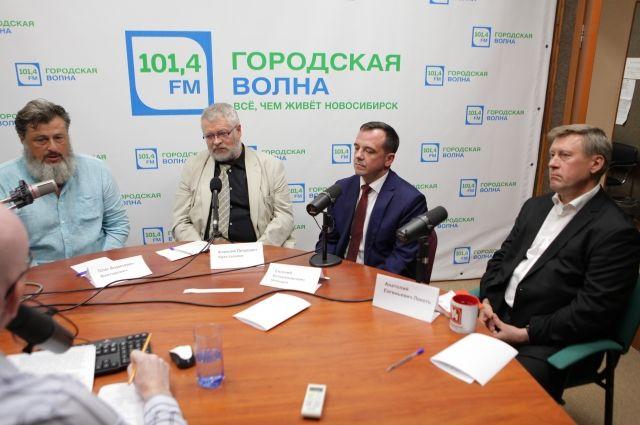 Кандидаты собрались, чтобы обсудить важные вопросы развития Новосибирска