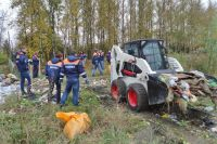 Уборка незаконных свалок обходится администрации города в сотни миллионов рублей.