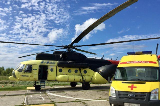 На территории ОКБ №2 в Тюмени появится вертолетная площадка