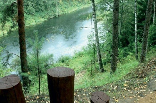 Знаменитый «Катюшин берег» поражает своей красотой и ухоженностью.