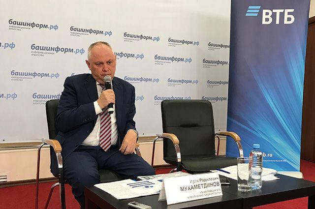 Итоги первого полугодия ВТБ в Республике Башкортостан озвучил управляющий банка Ирек Мухаметдинов.