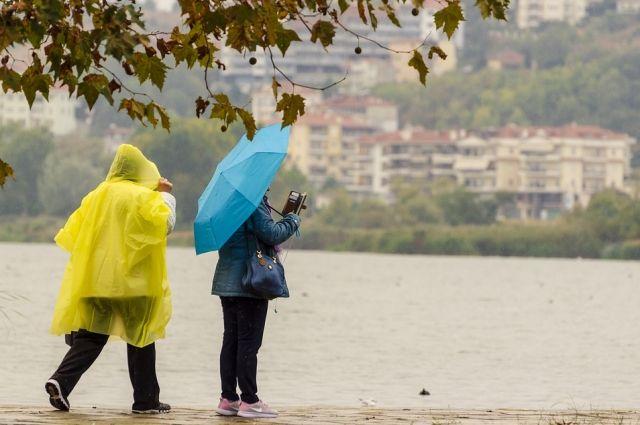 МЧС: в Оренбуржье сохранится сильный ветер, ожидается дождь.