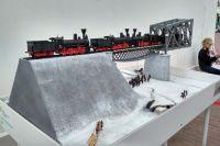 Диорама омского моста.