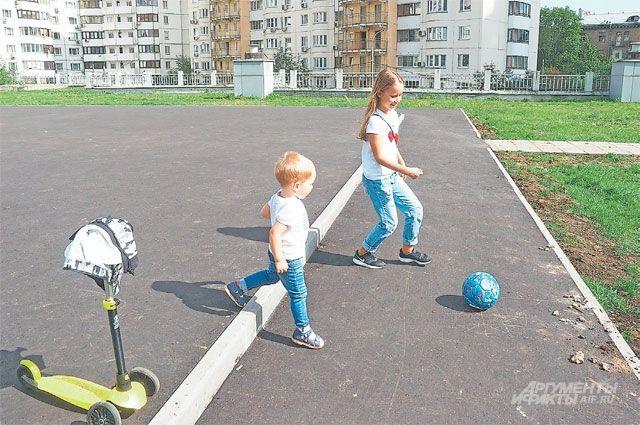 На территории спортивно-оздоровительного комплекса будет в том числе и детская площака