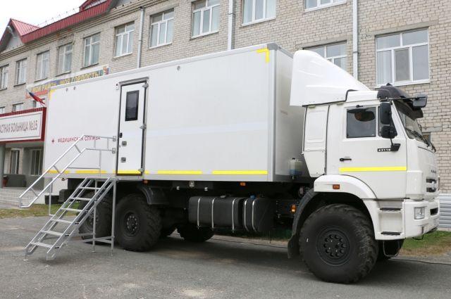 В Тюменской области начал работу мобильный фельдшерско-акушерский пункт