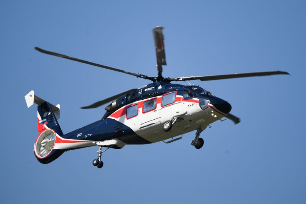 Вертолет Ка-62.