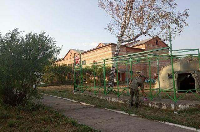 В Каменке отремонтировали школу и детский сад.