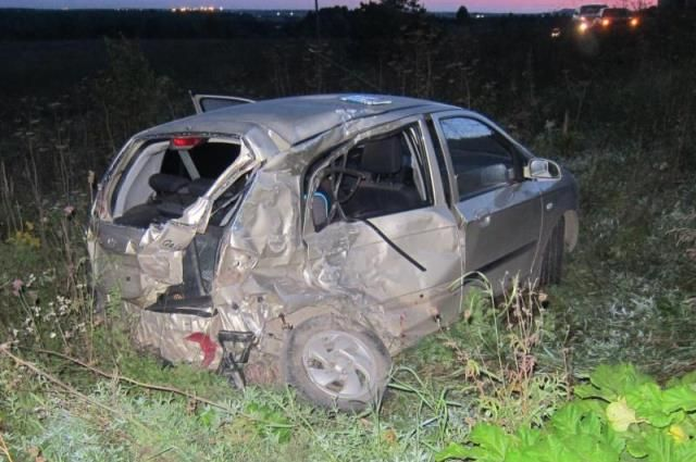 Пассажир иномарки получил тяжёлые травмы и умер в больнице.