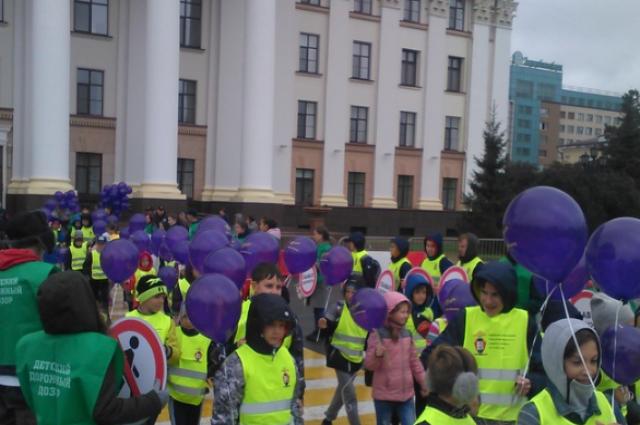 В Тюмени проходит фестиваль безопасности #ДорогаВШколу
